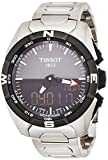 Tissot Women's Swiss Quartz Titanium Casual Watch, Color:Silver-Toned (Model: T0914204408100)