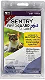 SENTRY Fiproguard Plus Flea and Tick Topical for Cats, Over 1.5 lbs