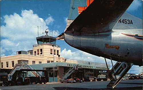 - The Terminal Building at Imeson Airport Jacksonville, Florida Original Vintage Postcard