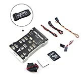 Crazepony Strap + Pixhawk PX4 2.4.8 Flight Controller + Micro SD Card + Buzzer + 3M Tape, 32 Bit ARM Integrated PX4FMU PX4IO for FPV Multicopters ( Include Other Accessories )