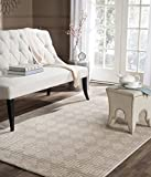 Cheap Safavieh Paradise Collection PARB637D Silky Geometric Greek Key Cream Viscose Area Rug (3'1″ x 4'7″) (3'1″ x 4'7″)