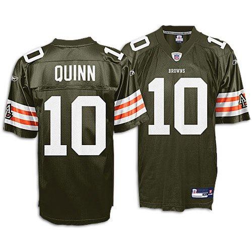 quality design c391a e202a Amazon.com : Reebok Cleveland Browns Brady Quinn Youth ...