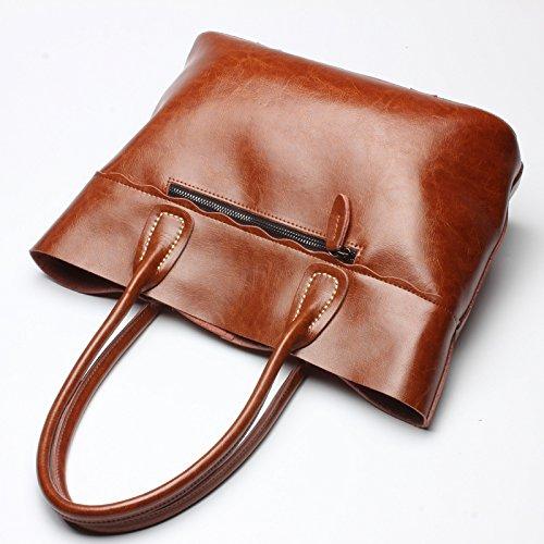 ladies The handbags Brown brown bag Pipulade bag package wqBCE5