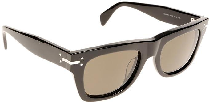 d0035ea3fa4e Celine 41038S 807 Black Classic Wayfarer Sunglasses Lens Category 3:  Amazon.co.uk: Clothing