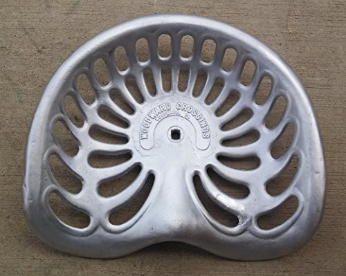 Woodward Crossings Vintage Tractor Seat, Bucket Pan Style, New (Farmall Seat Tractor)