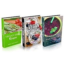 Vegan Ketogenic: Vegan Keto Recipe Book Bundle, The Best Low Carb Vegan Recipes Huge Box Set: Vegan Ketogenic Classic Recipes, Desserts and Smoothies 135 recipes 3 Book Set, Vegan Ketogenic, Keto