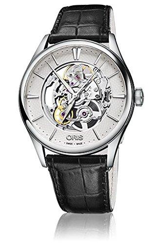 [オリス]ORIS 腕時計 アートリエスケルトン 734 7721 4051D メンズ 【正規輸入品】 B01NCVSJWN