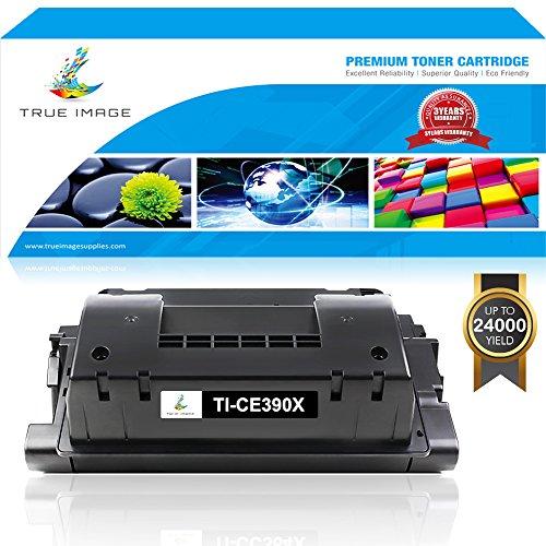 TRUE IMAGE 1 Pack Compatible for HP 90A CE390A Toner Cartridge for HP M602 M603 M4555 HP Laserjet Enterprise 600 M602dn M602n M602x M603dn M603n M603xh M4555f M4555h M4555fskm Printer Toner Black ()