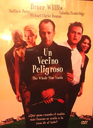 Un Vecino Peligroso (The Whole Nine Yards) aka Falsas apariencias [NTSC/Region 1&4 dvd. Import - Latin America] Bruce Willis (Spanish subtitles)