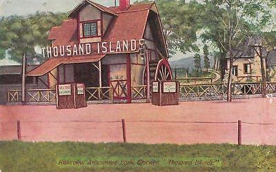 F3162 IL, Chicago Riverview Amusement Park Postcard