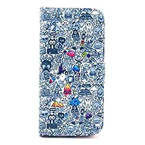 WQQ Owls And Elfin PU Leather Full Body Case for iPhone 6