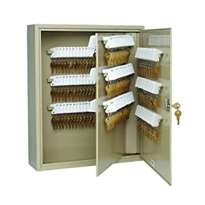 STEELMASTER Unitag Locking 240-Key Cabinet, 16.5 x 20.13 x 4.88 Inches, Sand (201924003)