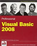 img - for Professional Visual Basic 2008 book / textbook / text book