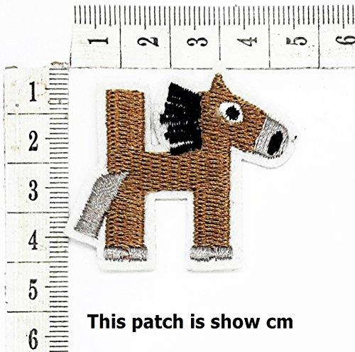 English (H) Letter Character Alphabet Sequin Shine Shiny Cartoon Chidren Kids Embroidren Iron Patch/Logo Sew On Patch Clothes Bag T-Shirt Jeans Biker Badge Applique