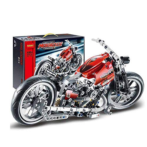 Kasstino 378Pcs Technic Motorcycle Exploiture Model Harley Building Toy Bricks Block Gift from Kasstino