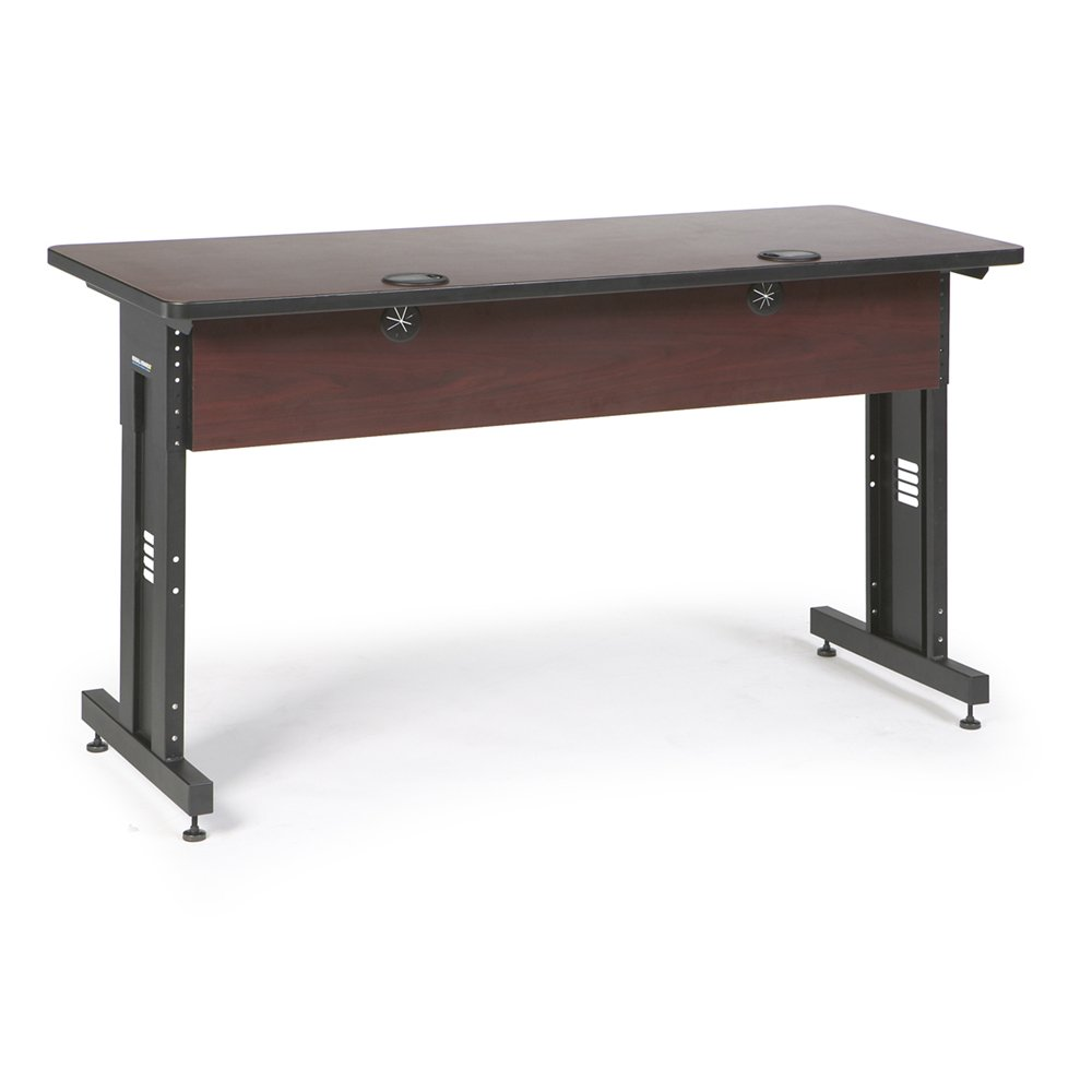 60'' W x 24'' D Training Table - African Mahogany