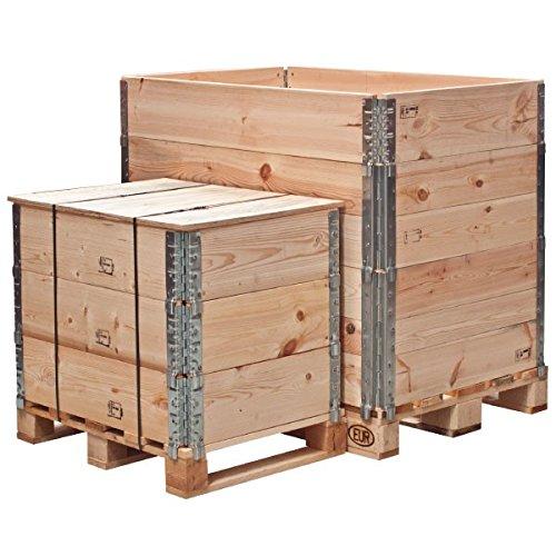 Propac z-lpc20b Wooden Crates Modular Log Pak, coperchioo, 80 x 60 cm 80x 60cm