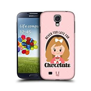 Never For Chocolate Vintage Ad Back Case For Samsung Galaxy S4 I9500