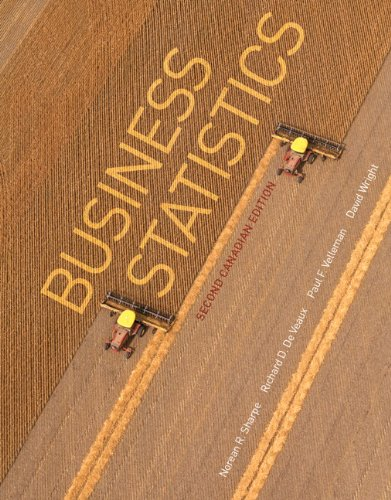 Business Statistics, Second Canadian Edition (2nd Edition)