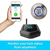 Kevo Plus Connected Hub 99240-001 to Lock & Unlock Kevo Smart Lock from Anywhere with Smartphone, Compatible with Alexa