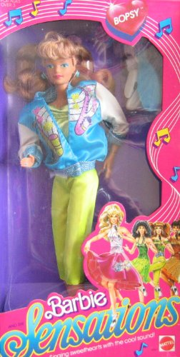 Barbie and The Sensations BOPSY Doll (1987 Mattel Hawthorne)