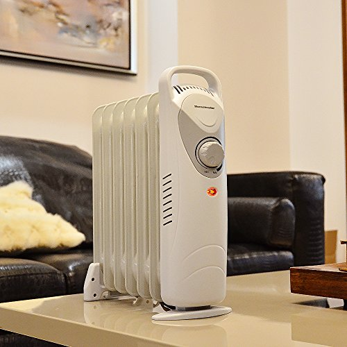Homeleader Df 600h1 7 Oil Filled Radiator Heater Portable Space Heater With Thermostat Control