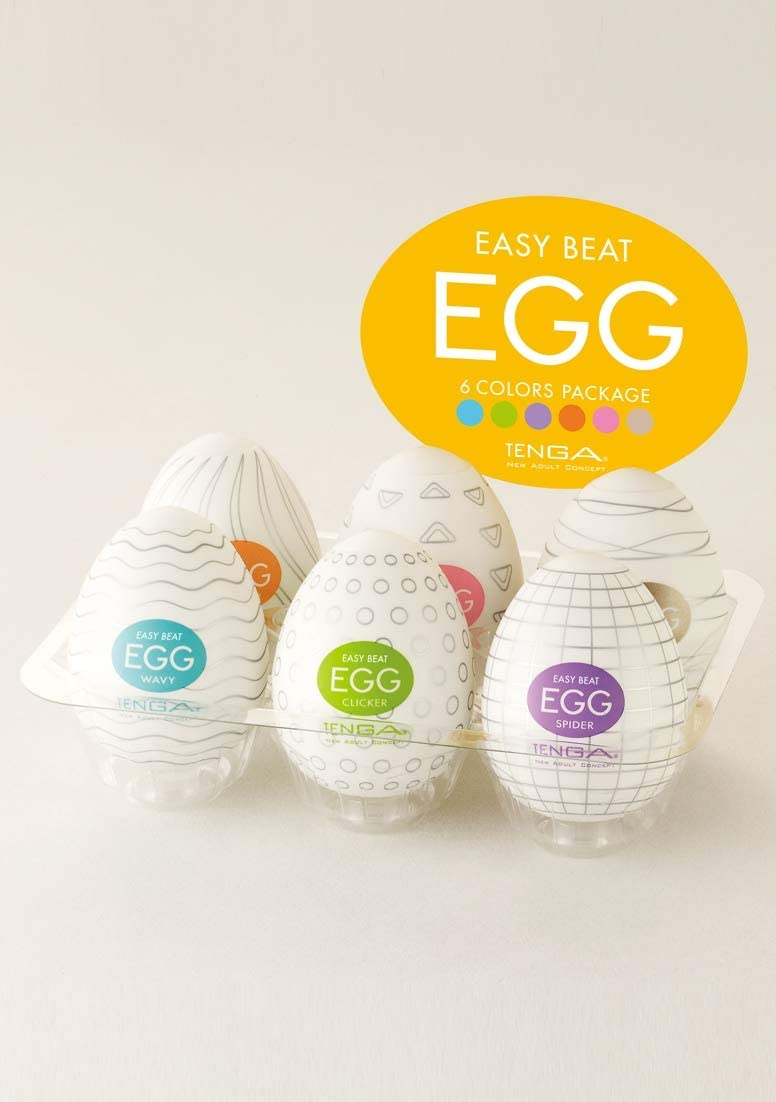Tenga Egg 6 Pack - 300 gr
