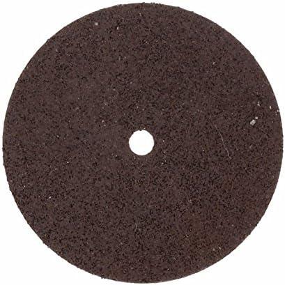 Dremel 420 - Discos de corte reforzados con fibra de vidrio 24 mm, juego accesorios de 5 discos para trabajos duros para herramienta rotativa para tronzar y cortar en metal, madera y plástico