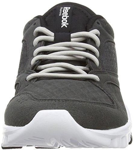 Mujer Black Gravel Zapatillas Grau Deportivas 7 Gris Steel 0 ReebokYourFlex Trainette White wf7qXX