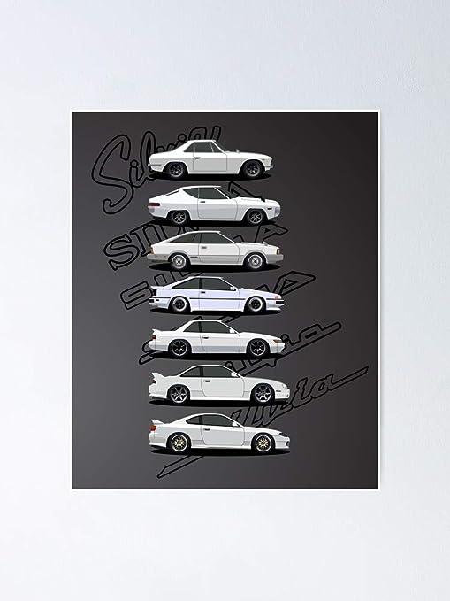 Ni-ssan SIL-via Generations Poster 12.75