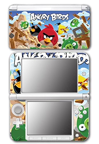 Angry Birds Red Chuck Bomb Pig Video Game Vinyl Decal Skin Sticker Cover for Original Nintendo 3DS XL System