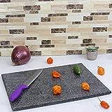 "Home Basics CB01881 Granite Cutting Board, 12"" x"