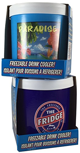 The Fridge Freezer and Fridge Paradise Freezable Drink Can Cooler Combo Pack