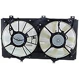 7 radiator fan - Evan-Fischer EVA24572048014 New Direct Fit Radiator Fan Assembly for CAMRY 07-11 Dual Hybrid