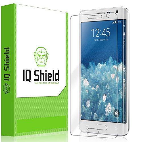 IQ Shield Screen Protector Compatible with Samsung Galaxy Note Edge (2-Pack) LiquidSkin Anti-Bubble Clear Film (Iq Shield Note Edge)