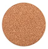 """Tebery 20 Pack Round 3.9"""" Absorbent Cork Coasters"""