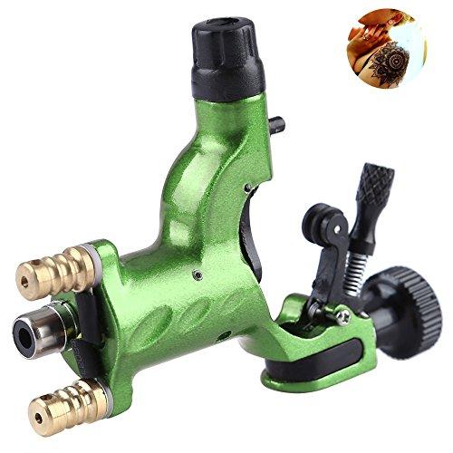 Rotary Tattoo Machine Gun , SKM NEW Dragonfly Liner Shader Rotary Motor Tattoo Machines Supplies 1pcs Green