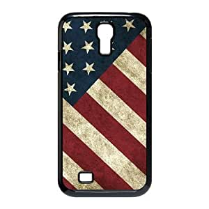 Cheap SamSung Galaxy S4 I9500 Case, Usa Vintage Flags quote New Fashion Phone Case