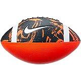 Bola de Futebol Americano Nike Spin 3.0 FB 9 Oficial - Vermelha com Preta