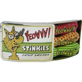 Yeowww Tin of Stinkies, 3 in a Sardine Tin