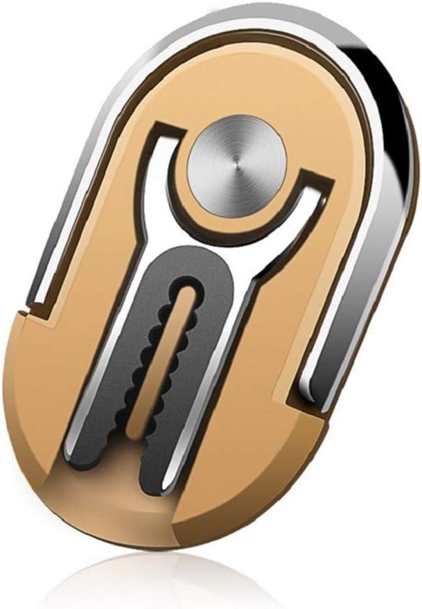 Rotating Stand Phone Ring Holder Finger Kickstand OIFEN Multipurpose Mobile Phone Bracket Holder 360/° Rotation Metal Ring Grip for Magnetic Car Mount Black