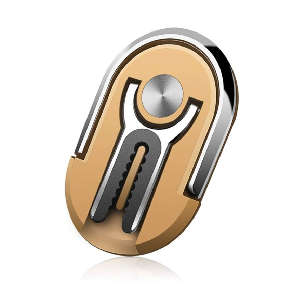 Rotating Stand Phone Ring Holder Finger Kickstand 360/° Rotation Metal Ring Grip for Magnetic Car Mount OIFEN Multipurpose Mobile Phone Bracket Holder Gold