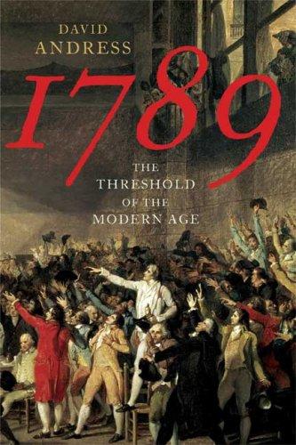 1789:THRESHOLD OF MODERN AGE