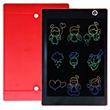 Color Display LCD Writing Tablet 9.7-inch Kids Drawing Pads with Stylus Electronic Writing Tablet (Red)