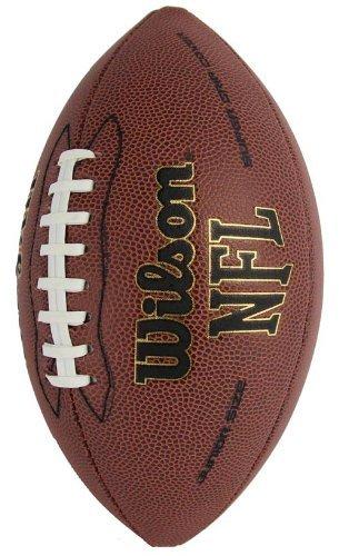 Amazon.com   Wilson 1793 NFL Junior Size Super Grip Leather Football ... 5ccd35b69e957