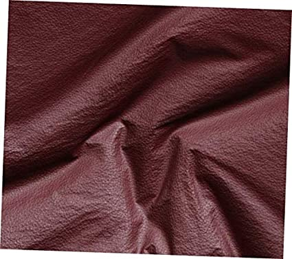 953369bb Image Unavailable. Image not available for. Color: CEDRIC Red Burgundy  Vinyl Fabric Faux Leather ...