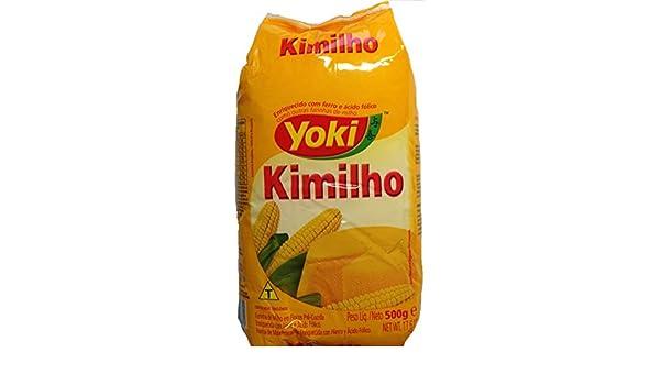 Amazon.com : kimilho- Farinha de Milho - Yoki - 500gr : Gourmet Food : Grocery & Gourmet Food