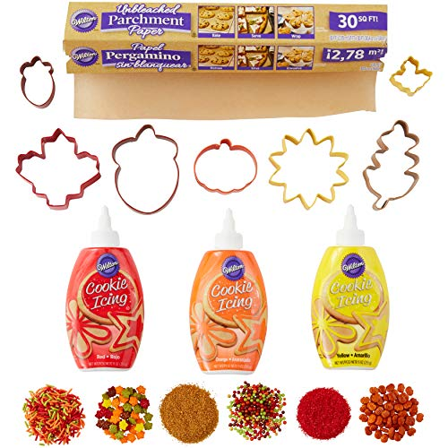 Wilton 2106-0-0049 Icing Cookie Cutter And Decorating Kit,