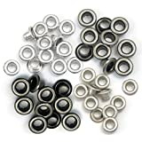 We R Memory Keepers Eyelets Cool Metal, Standard, 60-Pack, 15 of each color