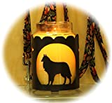 PupLife Belgian Sheepdog Dog Breed Jar Candle Holder